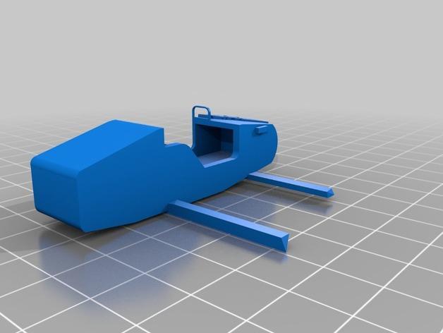 星际空间:Jarhead摩托车 3D模型  图4