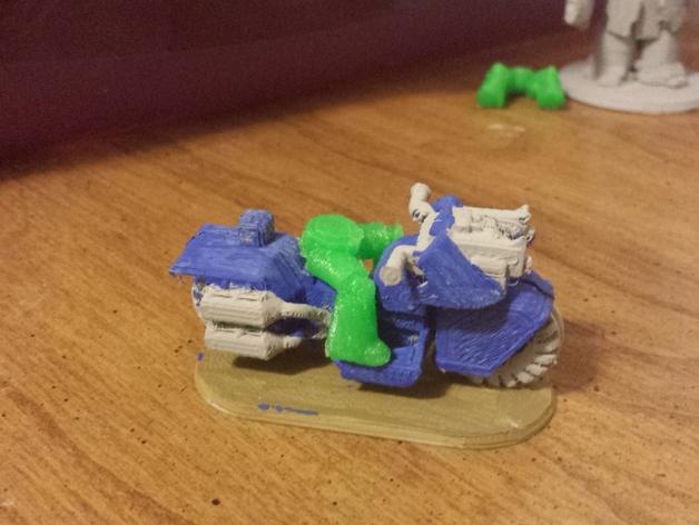 星际空间:Jarhead摩托车 3D模型  图9