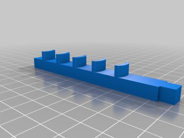 玩具马障碍物 3D模型  图2