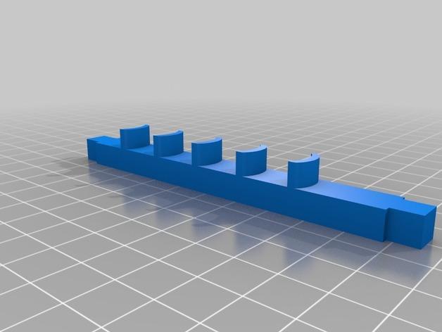 玩具马障碍物 3D模型  图3