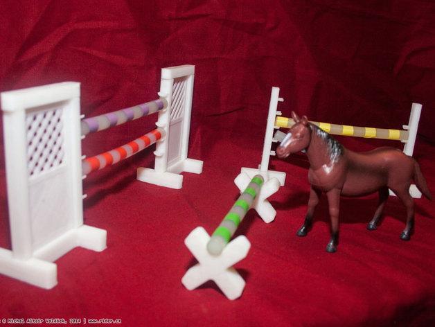 玩具马障碍物 3D模型  图12