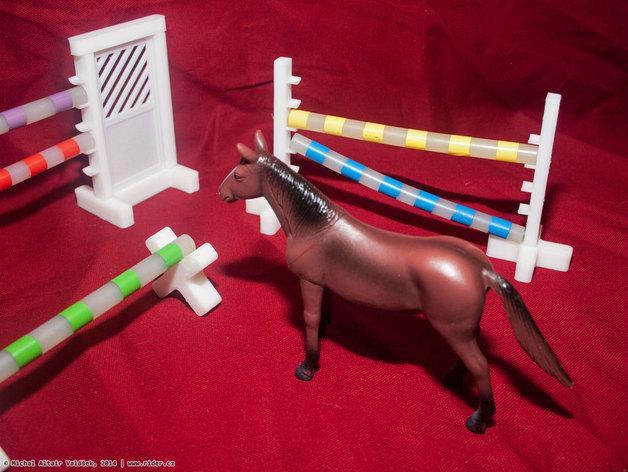 玩具马障碍物 3D模型  图11
