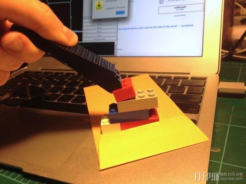 乐高方块分离器 3D模型  图2