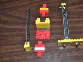 乐高建筑拼装玩具 3D模型
