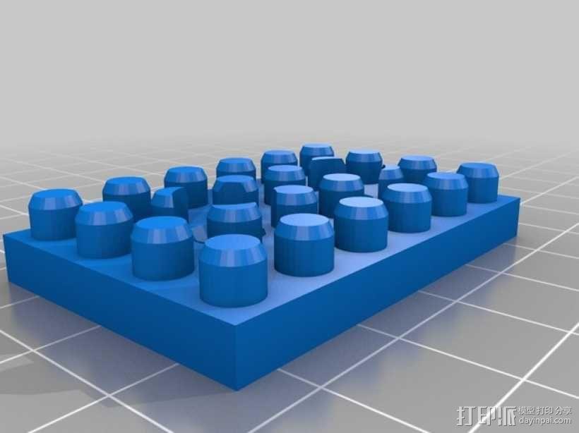 乐高建筑拼装玩具 3D模型  图3
