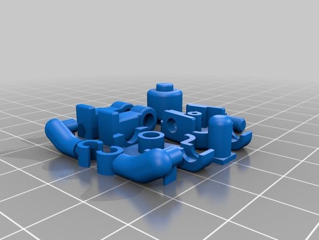可移动的迷你玩偶 3D模型  图11