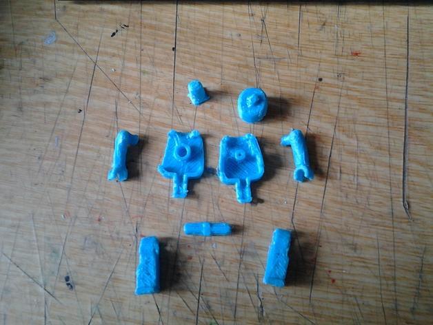 可移动的迷你玩偶 3D模型  图14