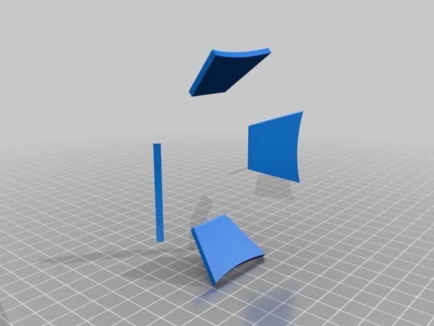 迷你小伞 3D模型  图2
