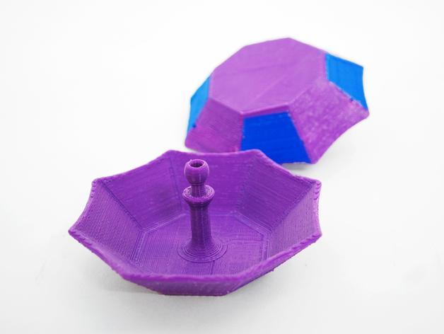 迷你小伞 3D模型  图5