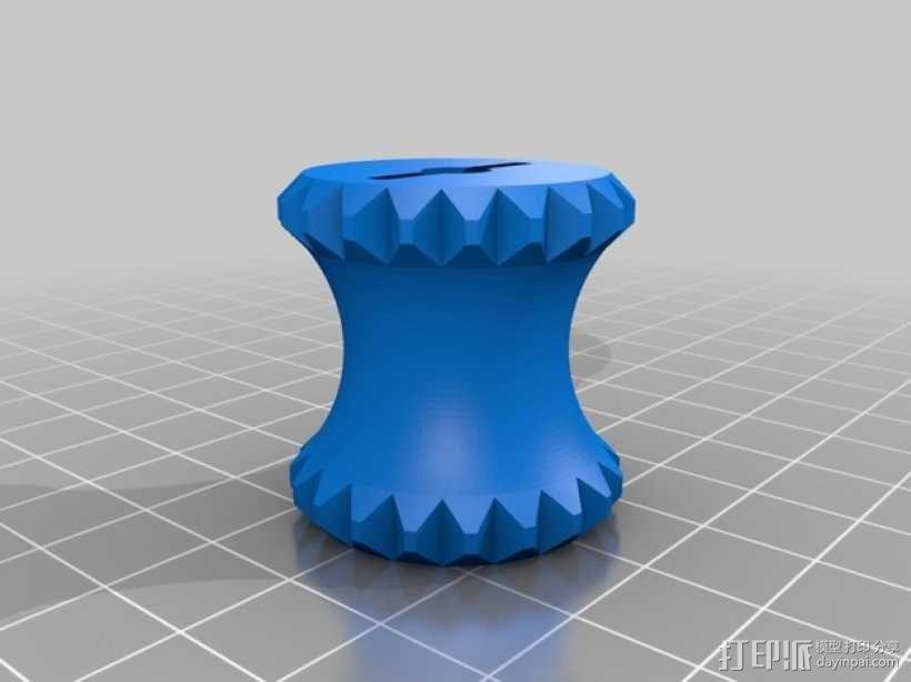 Itomaki缝纫机槽 3D模型  图4