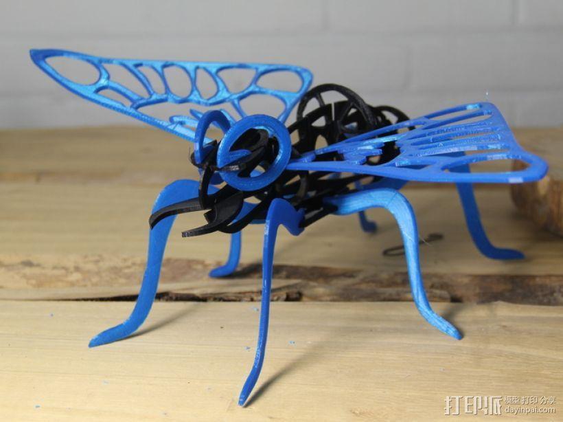 东宝:摩斯拉飞蛾 3D模型  图1