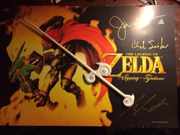 塞尔达传说:风之杖 3D模型  图1