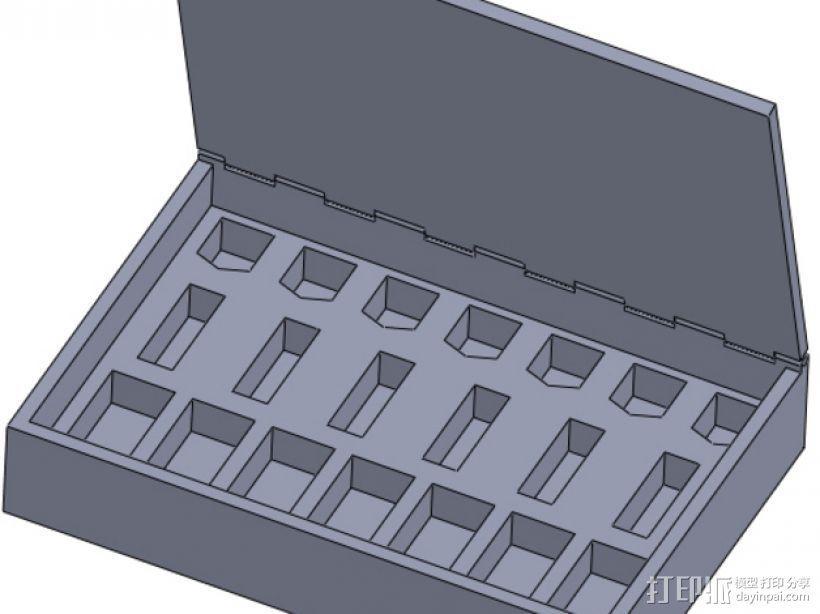 桌游小道具收纳盒 3D模型  图6