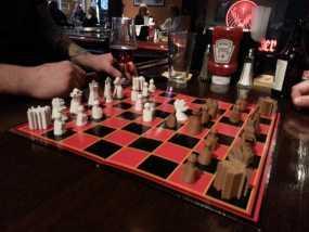 枫叶形象棋套件 3D模型