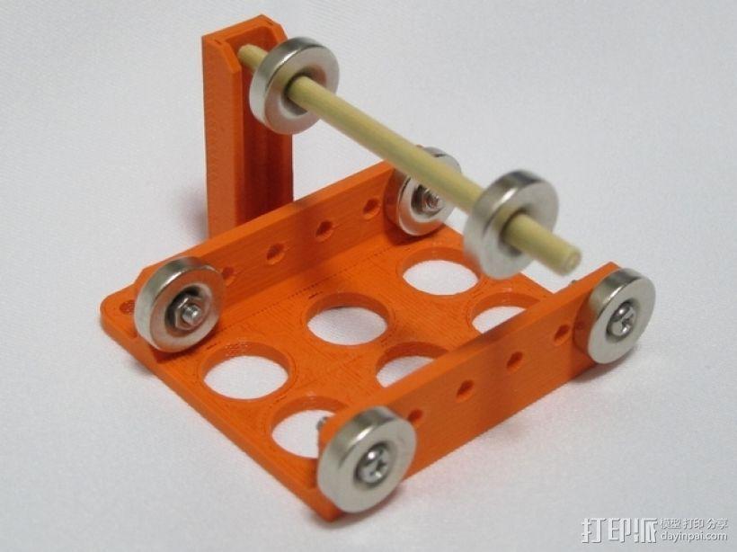 磁悬浮装置 3D模型  图3