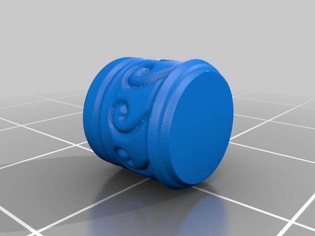 荡秋千的小矮人 3D模型  图2