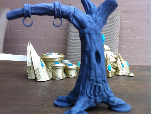 荡秋千的小矮人 3D模型  图4