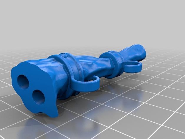 荡秋千的小矮人 3D模型  图9