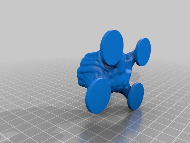 荡秋千的小矮人 3D模型  图13