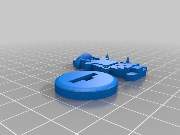 FlatMinis:城门守卫 3D模型  图5