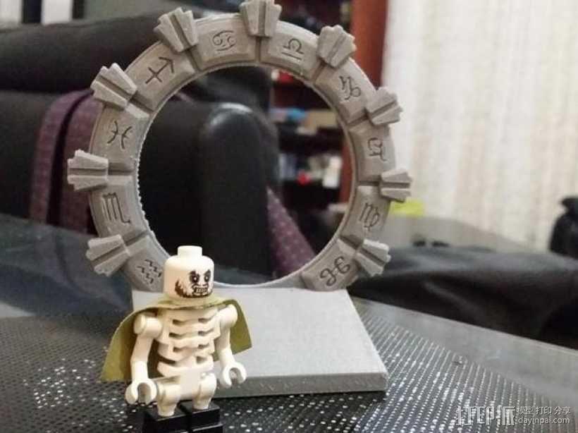 乐高星际之门 3D模型  图1