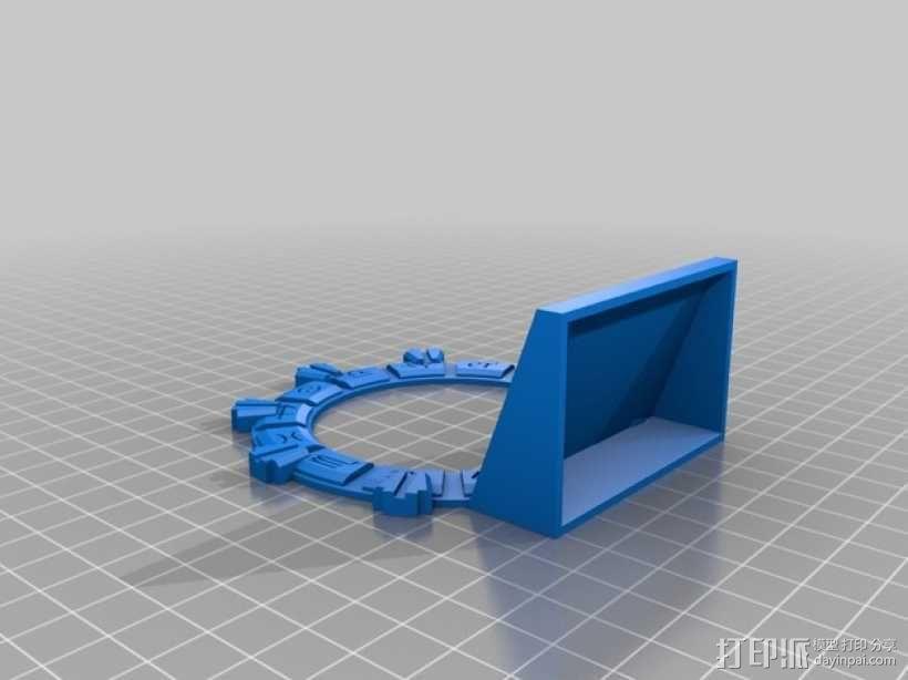 乐高星际之门 3D模型  图2