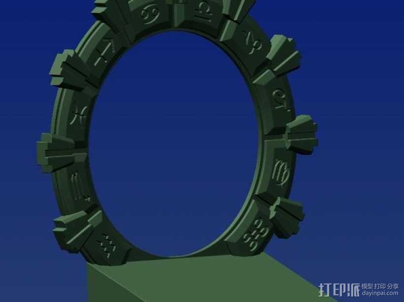 乐高星际之门 3D模型  图3