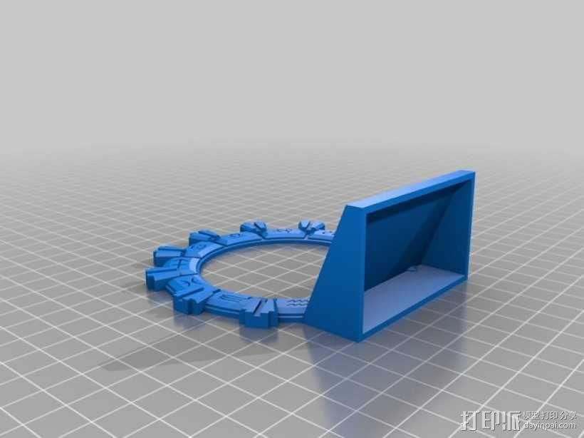 乐高星际之门 3D模型  图4