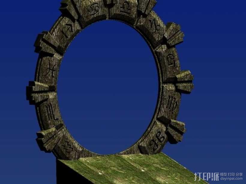 乐高星际之门 3D模型  图5