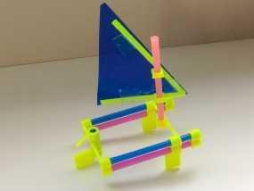 玩具船模型 3D模型