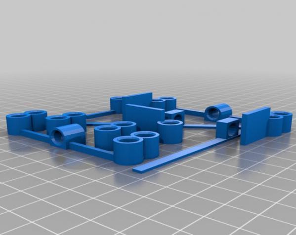 玩具船模型 3D模型  图4