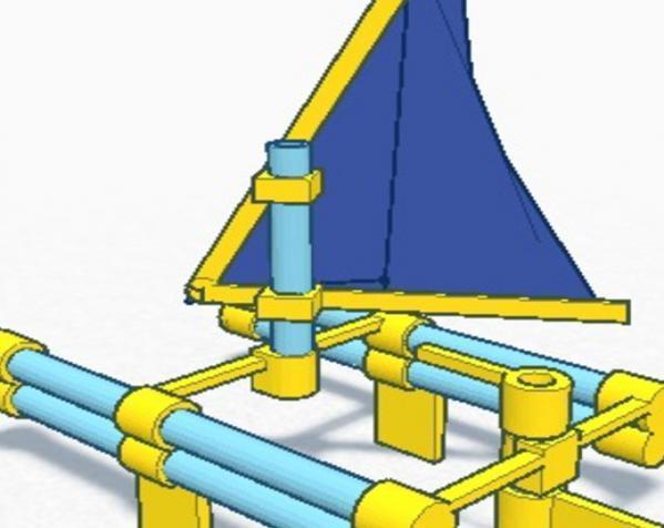玩具船模型 3D模型  图2