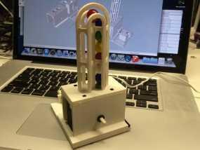 弹珠抽运装置 3D模型
