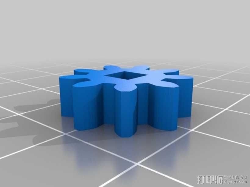 弹珠抽运装置 3D模型  图8