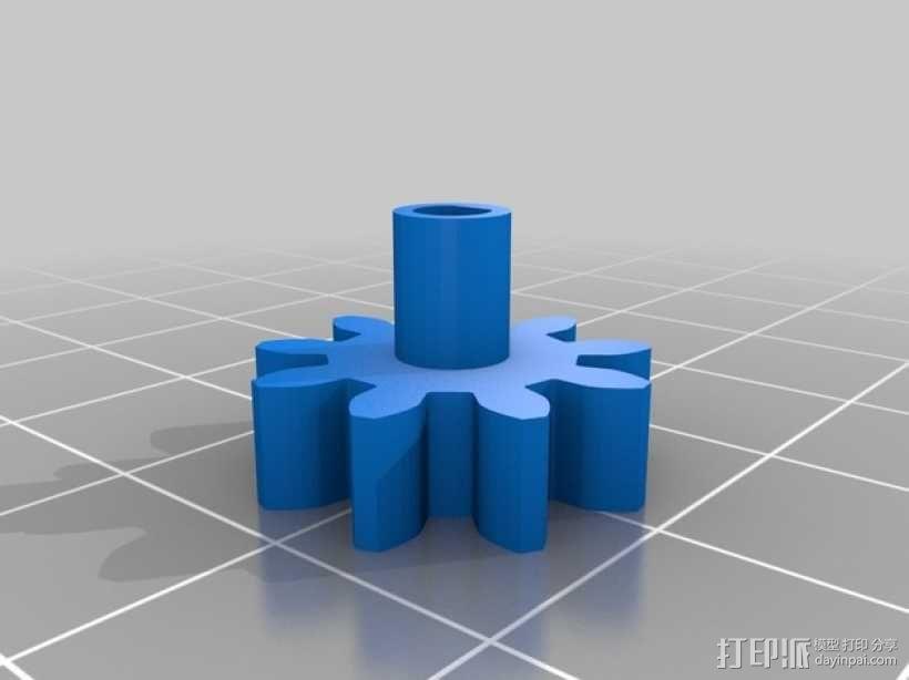 弹珠抽运装置 3D模型  图16