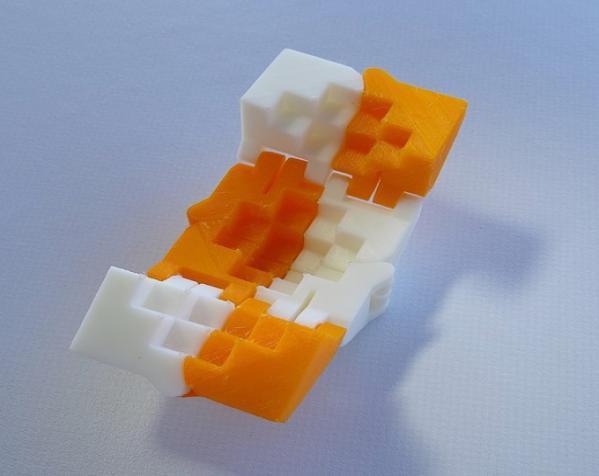PLA折叠立方体 3D模型  图3