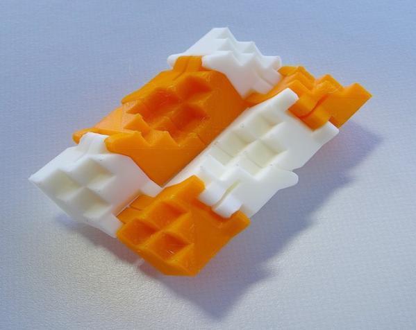 PLA折叠立方体 3D模型  图2