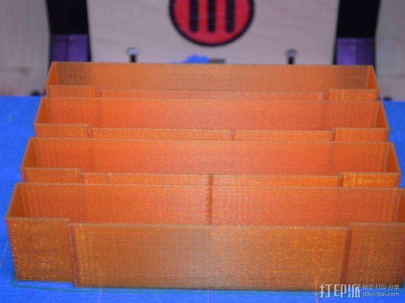 SNES游戏卡防尘保护套 3D模型  图5