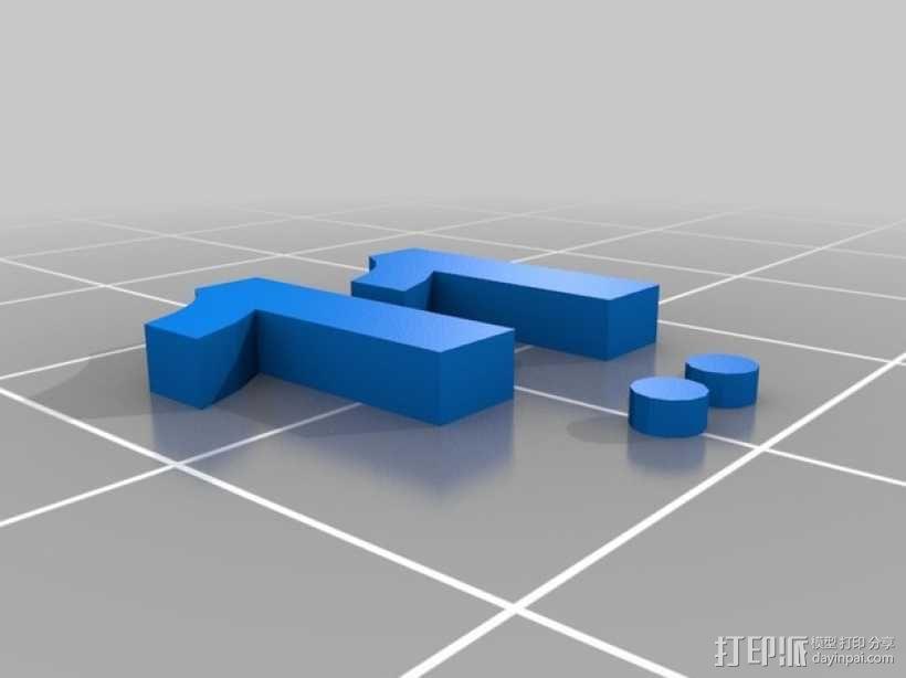 卡坦岛数字标记筹码 3D模型  图9