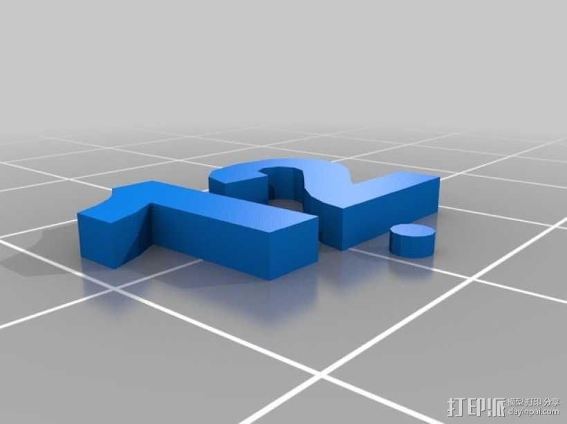 卡坦岛数字标记筹码 3D模型  图14