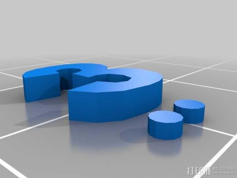 卡坦岛数字标记筹码 3D模型  图15