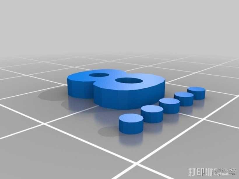 卡坦岛数字标记筹码 3D模型  图18