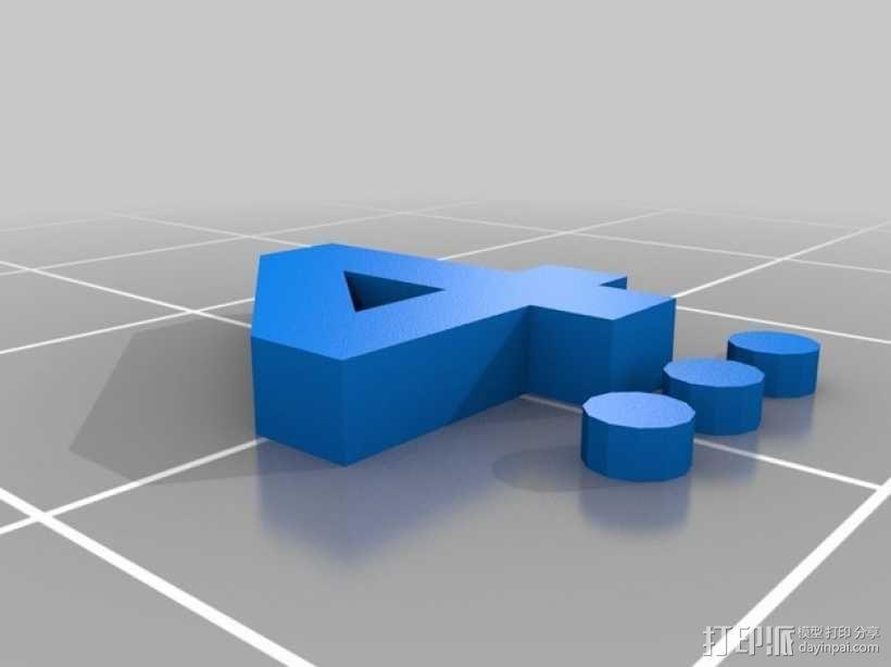 卡坦岛数字标记筹码 3D模型  图22
