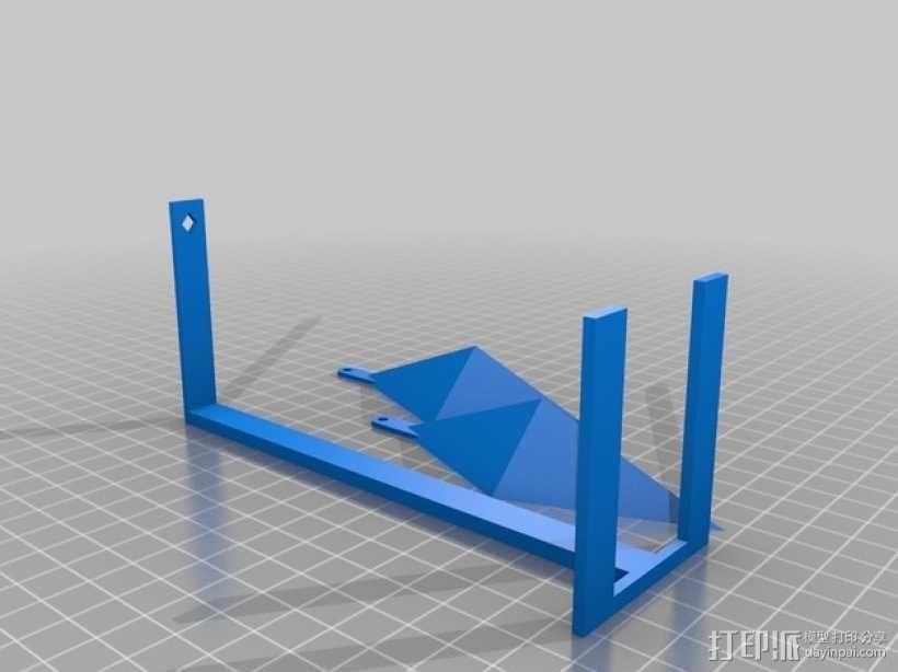 西姆斯水晶站架 3D模型  图2