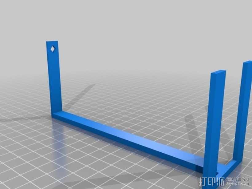 西姆斯水晶站架 3D模型  图3