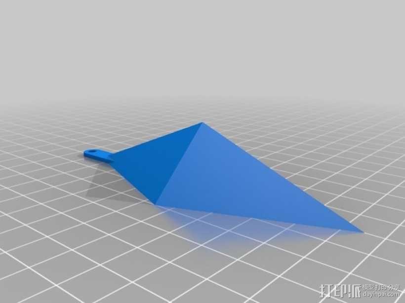 西姆斯水晶站架 3D模型  图4