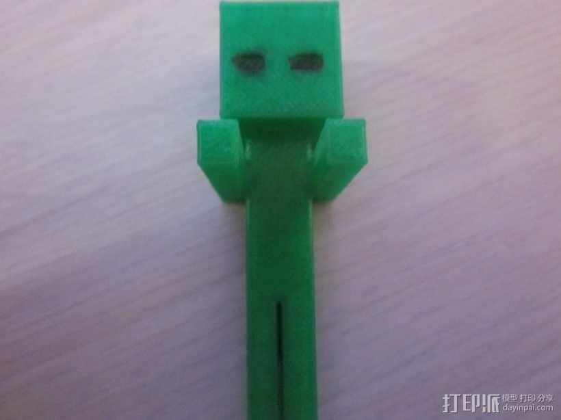 Minecraft:末影人 3D模型  图1