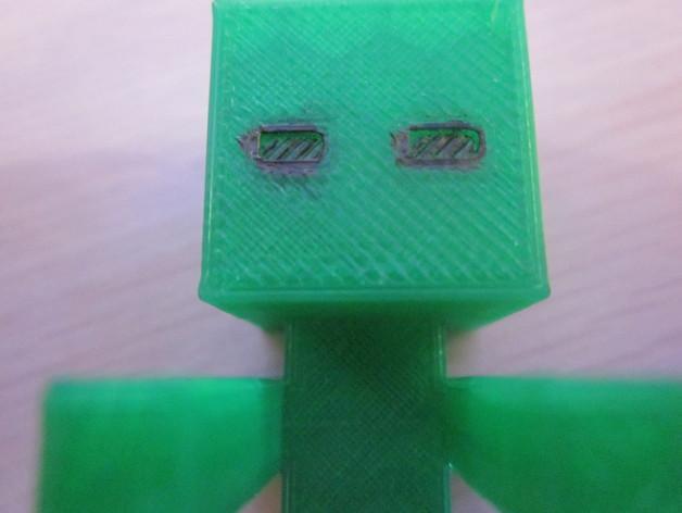 Minecraft:末影人 3D模型  图2