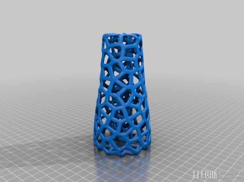 镂空的杂耍棒 3D模型  图2