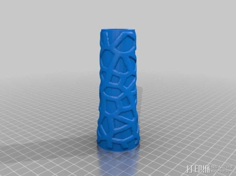 镂空的杂耍棒 3D模型  图3